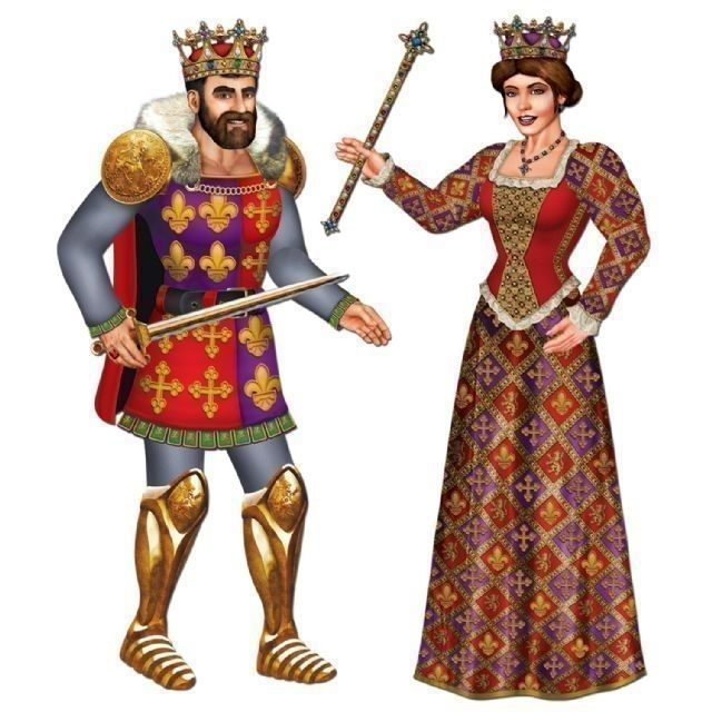 Medieval Lord Clipart Medieval Kings And Queens