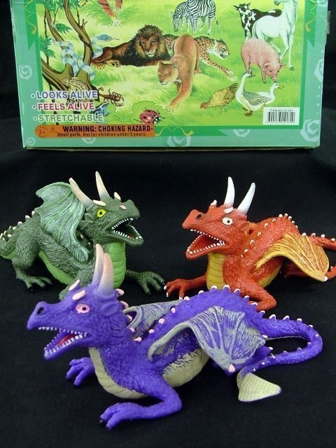 Squishy Dragon Toys : Lucky Dip / Toys - Novelty - Wholesaler, Party Products & Giftware - Victoria, New South Wales ...