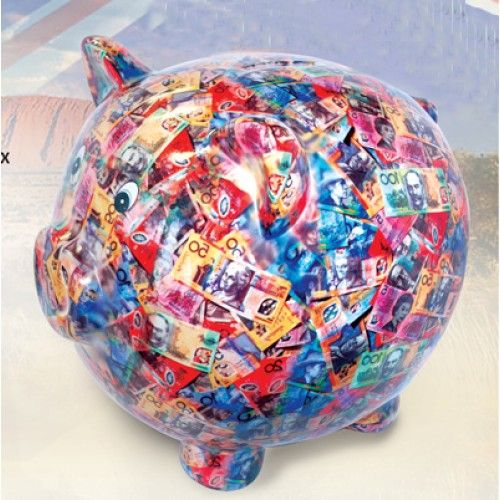 Money boxes baby toddler giftware wholesaler party products giftware victoria new - Jumbo piggy banks for adults ...